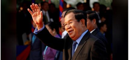 सहानुभूति व्यक्त गर्न चीन पुगे कम्बोडियाका प्रधानमन्त्री