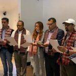 पत्रकार महासंघ बेलायत शाखाको निर्वाचन,अध्यक्षमा अर्याल निर्वाचित